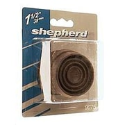 Shepherd Round Cushioned Rubber Caster Cup; Small