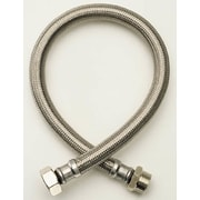 Fluidmaster No Burst Braided Compression Thread Faucet Connector; 12''