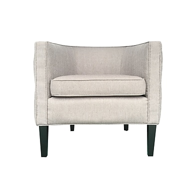 HD Couture Lulu Barrel Chair; Taupe