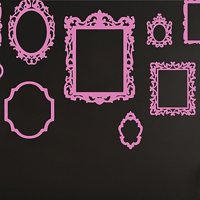 The Decal Guru Antique Picture Frames Wall