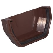 GenovaProducts Outside End Cap; Brown
