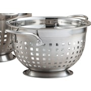 Cook Pro Stainless Steel Slotted Colander; 3 Qt