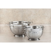 Cook Pro Stainless Steel Slotted Colander; 5 Qt