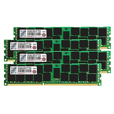 Transcend TS64GJMA535Z JetMemory 64 GB (4 x 16GB) DDR3 DIMM 1866 MHz DRAM Memory Kit for Mac