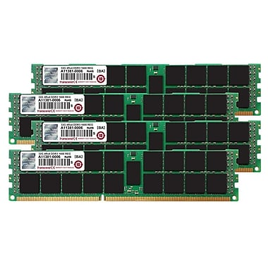 Transcend TS128GJMA534P JetMemory 128 GB (4 x 32GB) DDR3 DIMM 1600 MHz DRAM Memory Kit for Mac