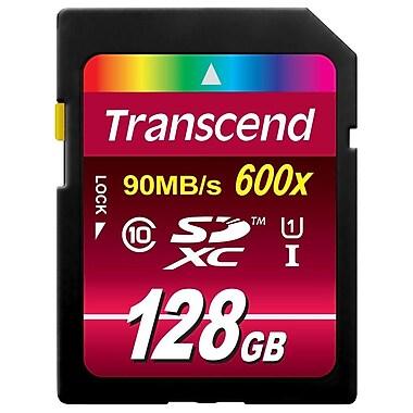 Transcend – Carte mémoire UHS-1 Ultimate Class 10 SDXC de 128 Go, TS128GSDXC10U1