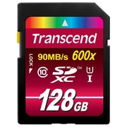 Transcend TS128GSDXC10U1 128 GB SDXC Ultimate Class 10 UHS-1 Memory Card