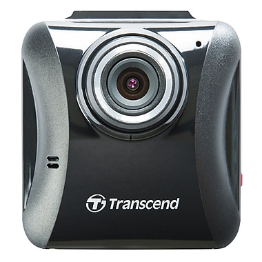 Transcend TS16GDP100A DrivePro 100 Dash Camera, Adhesive Mount