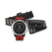 Garmin – Ensemble de performance pour montre GPS d'entraînement fenixMD 3 multisport, argenté