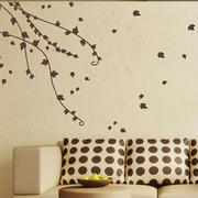 SissyLittle Climbing Ivy Vines Wall Decal; Brown