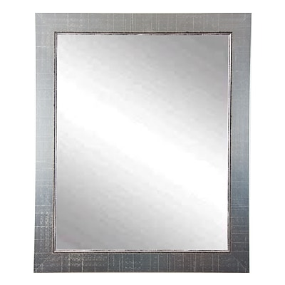 BrandtWorksLLC Designers Choice Antique Silver Wall Mirror;