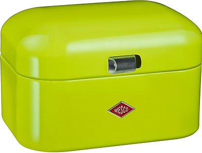 Wesco Single Grandy Bread Box; Lime Green
