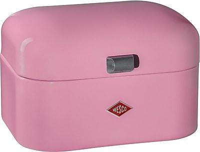 Wesco Single Grandy Bread Box; Pink