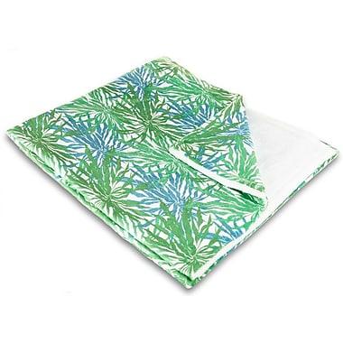 Island Girl Home Tropical Palm Springs Fleece Throw Blanket