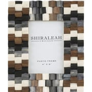 Shiraleah Griggio Textured Picture Frame