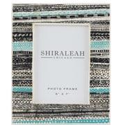 Shiraleah Feliz Block Print Picture Frame