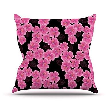 KESS InHouse Throw Pillow; 18'' H x 18'' W x 4.1'' D
