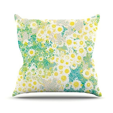 KESS InHouse Myatts Meadow Throw Pillow; 20'' H x 20'' W 4.5'' D