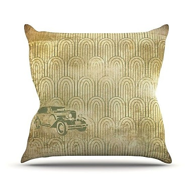 KESS InHouse Deco Car Throw Pillow; 26'' H x 26'' W x 5'' D
