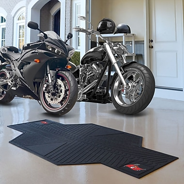 FANMATS NFL - Tampa Bay Buccaneers Motorcycle Utility Mat