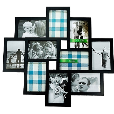 BestBuy Frames 10 Photo Collage Puzzle Style Picture Frame