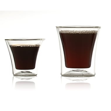 Highwave Inc. Eurojo Espresso Double Wall Glass (Set of 2)