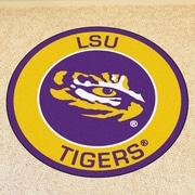 FANMATS NCAA Louisiana State University Roundel Mat