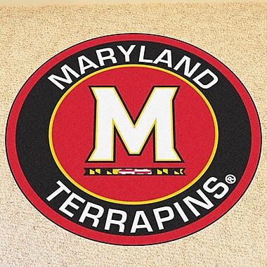 FANMATS NCAA University of Maryland Roundel Mat