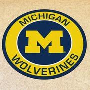 FANMATS NCAA University of Michigan Roundel Mat