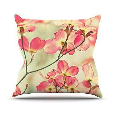 KESS InHouse Morning Light Throw Pillow; 20'' H x 20'' W