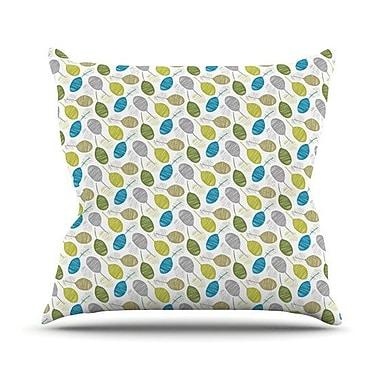 KESS InHouse Tangled Throw Pillow; 20'' H x 20'' W 4.5'' D