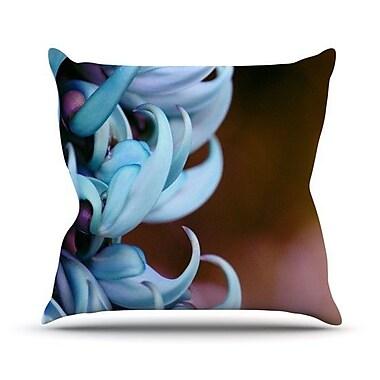 KESS InHouse Bloom Throw Pillow; 18'' H x 18'' W