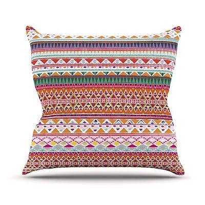 KESS InHouse Chenoa Throw Pillow; 20'' H x 20'' W