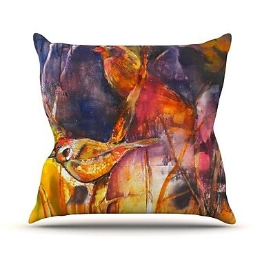 KESS InHouse In Depth Throw Pillow; 26'' H x 26'' W
