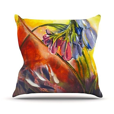 KESS InHouse Progression Throw Pillow; 20'' H x 20'' W