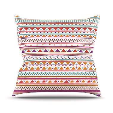 KESS InHouse Native Bandana Throw Pillow; 20'' H x 20'' W
