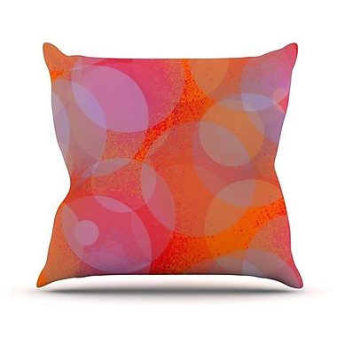KESS InHouse Six Throw Pillow; 26'' H x 26'' W