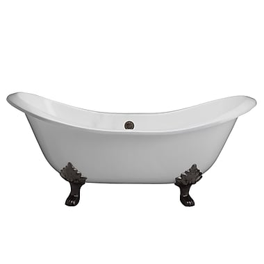 Barclay Marshall 71'' x 3/0.5'' Soaking Bathtub; Oil Rubbed Bronze