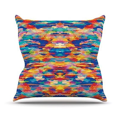 KESS InHouse Cloud Nine Throw Pillow; 18'' H x 18'' W x 4.1'' D