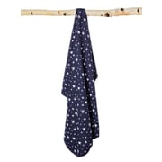 Baby Noomie Starry Sky Signature Cotton Blanket; Navy