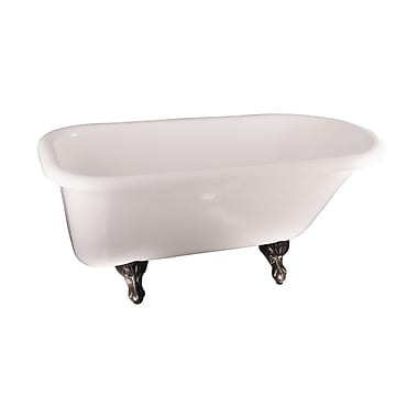 Barclay Asia 67'' x 29.5'' Soaking Bathtub; Oil Rubbed Bronze
