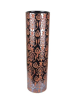 Sagebrook Home Ceramic Vase; 12'' H x 4.5'' W x 4.5'' D