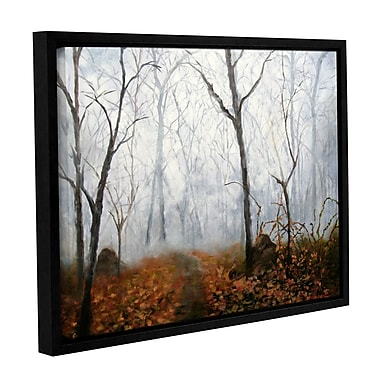 ArtWall Autumn Mist by Marina Petro Framed Painting Print on Wrapped Canvas; 24'' H x 32'' W
