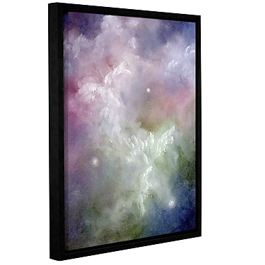 ArtWall Dancing Angels by Marina Petro Framed Painting Print on Wrapped Canvas; 24'' H x 32'' W