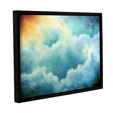 ArtWall Evidence Of Angels by Marina Petro Framed Painting Print on Wrapped Canvas; 36'' H x 48'' W