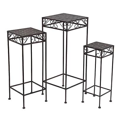 Privilege 3 Piece Nesting Plant Stand Set