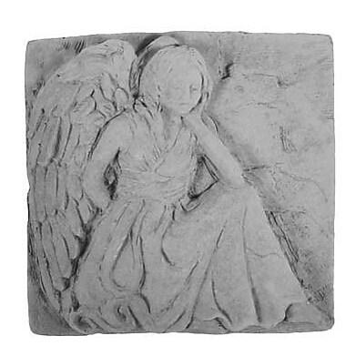 KayBerryInc Kneeling Angel Stepping Stone