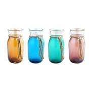 Diamond Star Glass Vase (Set of 4)