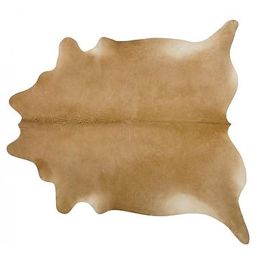 Pergamino Handmade Beige Area Rug; 7' x 7'6''