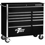 "Extreme Tools 41"" 11 Drawer Standard Roller Cabinet"